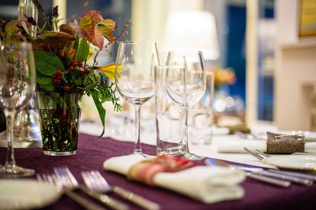 Corporate private dining